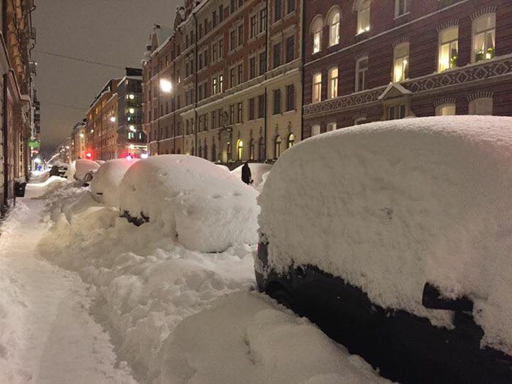 Meanwhile in central Stockholm