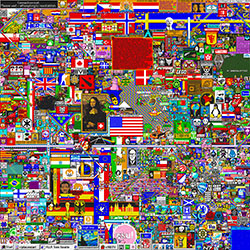 Reddit Place - A Birth Of Art