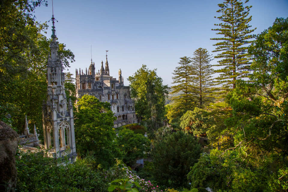 Pointy things, both gray and green, all in Sintra should be seen :)