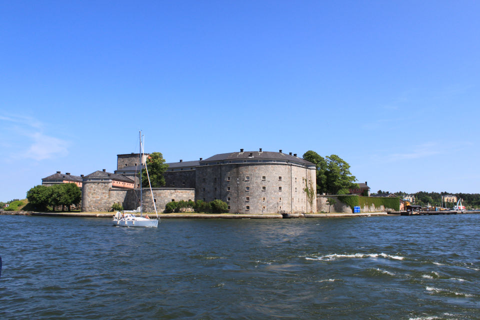 "Vaxholm, the ""capital"" of the Inner Stockholm Archipelago."