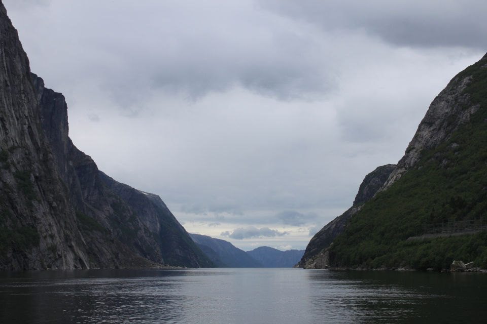 Lysefjord, ground zero. Or should I say water zero.