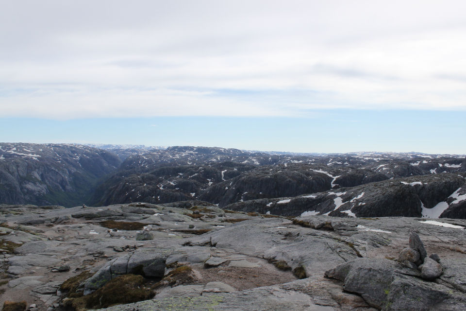 The Kjerag plateau.