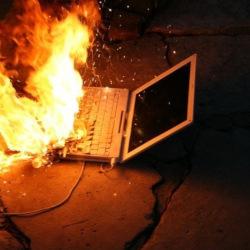 Burning Host