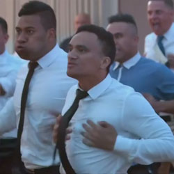 Maori Wedding War Cry