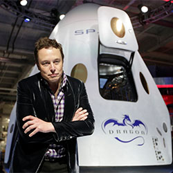Musk Escapes Earth